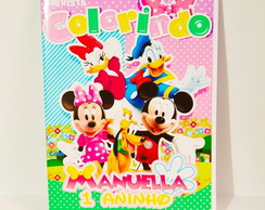Revista Turma do Mickey personalizada