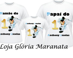 CAMISETA MICKEY MAGICO KIT/3