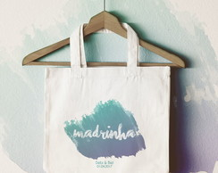 Ecobag - Madrinha Aquarela