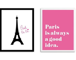 Kit de Quadros Paris