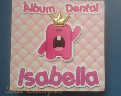 Álbum dental com estojo