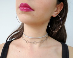 Mix de chokers e Argola