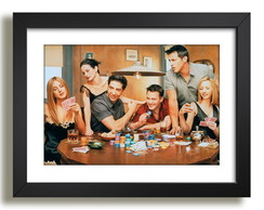 Quadro Friends Serie Tv Filme Paspatur