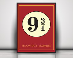 Poster Harry Potter - express hogwarts