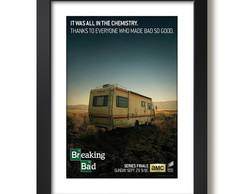 Quadro Breaking Bad Heisenberg Paspatur