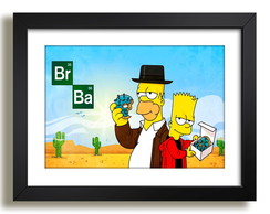 Quadro Breaking Bad Tv Serie Paspatur