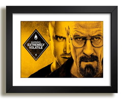 Quadro Breaking Bad 45x35cm Paspatur