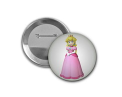 Botton Princesa Peach - 4,5cm