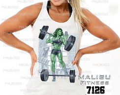 regata feminina academia gym hulk girl