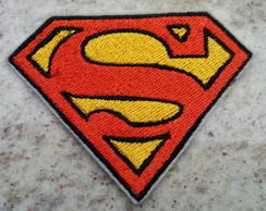 Patch Bordado Termocolante Superman