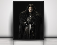 Poster Jon Snow - Game Of Thrones