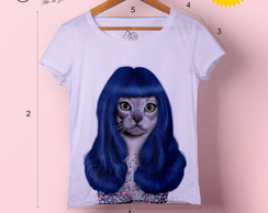 T-shirt feminina Cat Perry