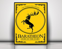 Poster Baratheon - Game Of Thrones