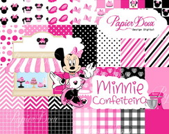 Kit Digital Minnie Confeiteira