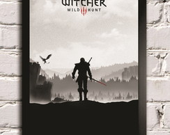 Poster com moldura The Witcher game 3