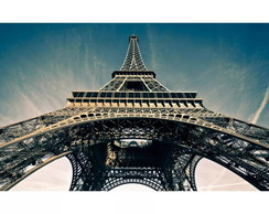 Quadro Eiffel Tower city Sky Paris