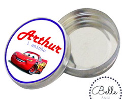 Latinha mint to be personalizada- Cars