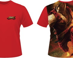 Camiseta Street Fighter Ken
