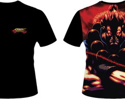 Camiseta Street Fighter Akuma