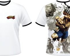 Camiseta Street Fighter Sagat