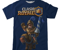Camiseta Clash Royale Azul