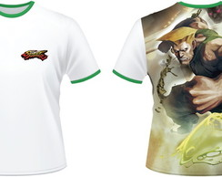 Camiseta Street Fighter Guile