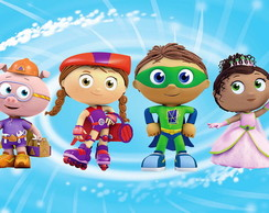Painel Super Why -Frete Grátis