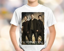 Camiseta Infantil Supernatural 1