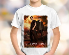 Camiseta Infantil Supernatural 3