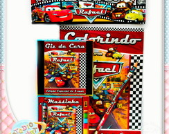 Revista kit colorir Carros disney