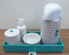 Kit Higiene Chevron e Tiffany BLP