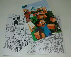 Revista para Colorir Minecraft
