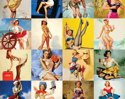 Azulejo Decorativo Pin-up