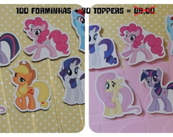 Cod 0713 - Forminhas My Little Pony