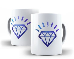 Caneca Diamante Galaxy