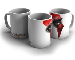 Caneca Kratos - God of War