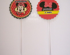 Toppers para doces - minnie