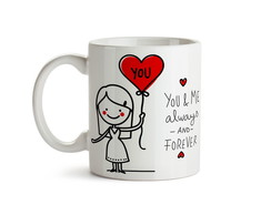 Caneca Casal - Always And Forever