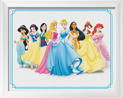 Quadrinho Princesas Disney
