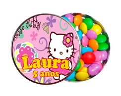 Kit 30 Latinhas Hello Kitty