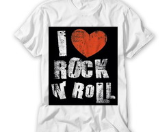 Camiseta I Love Rock'n Roll