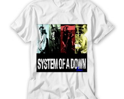Camiseta Rock - System of Adown