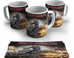Caneca Rock - Iron Maiden