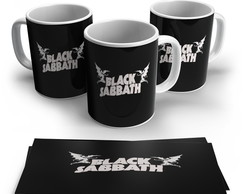 Caneca Rock - Black Sabbath