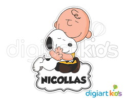Placa com Recorte - Snoopy