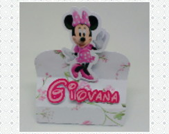 Porta chocolate Minnie Rosa