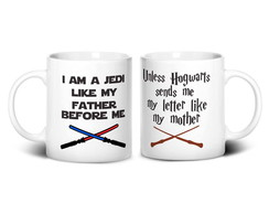 Caneca Star Wars/Harry Potter