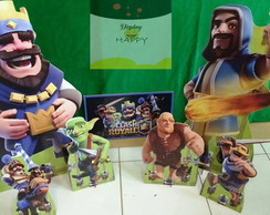 kit display clash royale mdf