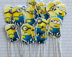 Topper dos Minions [ kit com 10 ]