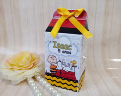 Mini caixa milk Snoopy